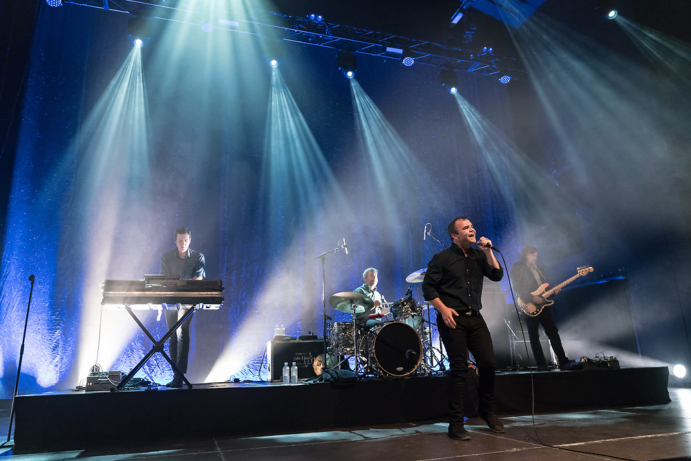 American post-wave band Future Islands at Schlachthof Wiesbaden