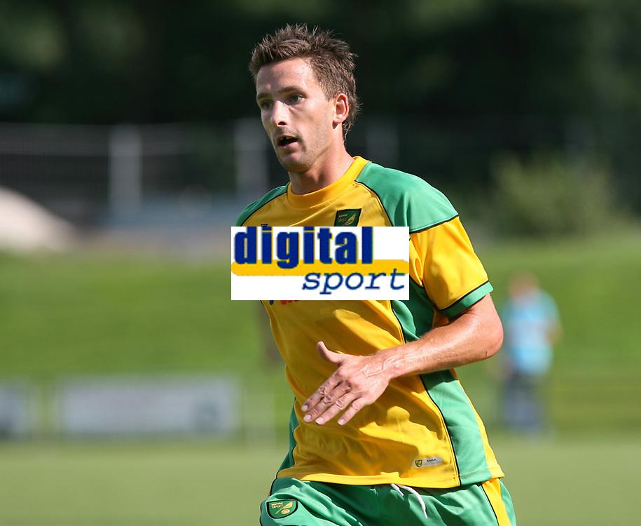 Photo: Maarten Straetemans.<br /> AGOVV Apeldoorn v Norwich City. Pre Season Friendly. 21/07/2007.<br /> Adam Drury