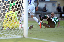 May 25, 2019 - Oeiras, Portugal - OEIRAS, PORTUGAL - MAY 25: Sporting's forward Bas Dost from Holland shoots to score during the Portugal Cup Final football match Sporting CP vs FC Porto at Jamor stadium, on May 25, 2019, in Oeiras, outskirts of Lisbon, Portugal. (Credit Image: © Pedro Fiuza/NurPhoto via ZUMA Press)