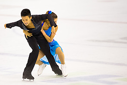Brianna Delamestro and Timothy Lum of Canada at ISU Junior Grand Prix of Figure Skating Ljubljana Cup 2014 on August 29, 2014 in Hala Tivoli, Ljubljana, Slovenia. Photo by Matic Klansek Velej / Sportida