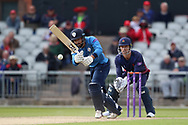 Derbyshires Anuj Dal during the Royal London 1 Day Cup match between Lancashire County Cricket Club and Derbyshire County Cricket Club at the Emirates, Old Trafford, Manchester, United Kingdom on 2 May 2019.