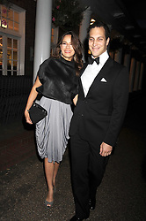 LORD FREDERICK WINDSOR and SOPHIE WINKLEMAN at the Royal Parks Foundation Summer Party hosted by Candy & Candy on the banks of the Serpentine, Hyde Park, London on 10th September 2008.