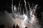 Fireworks at Cliffe Bonfire, Lewes, 5/11/05