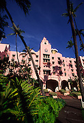 Royal Hawaiian Hotel, Waikiki, Oahu, Hawaii<br />