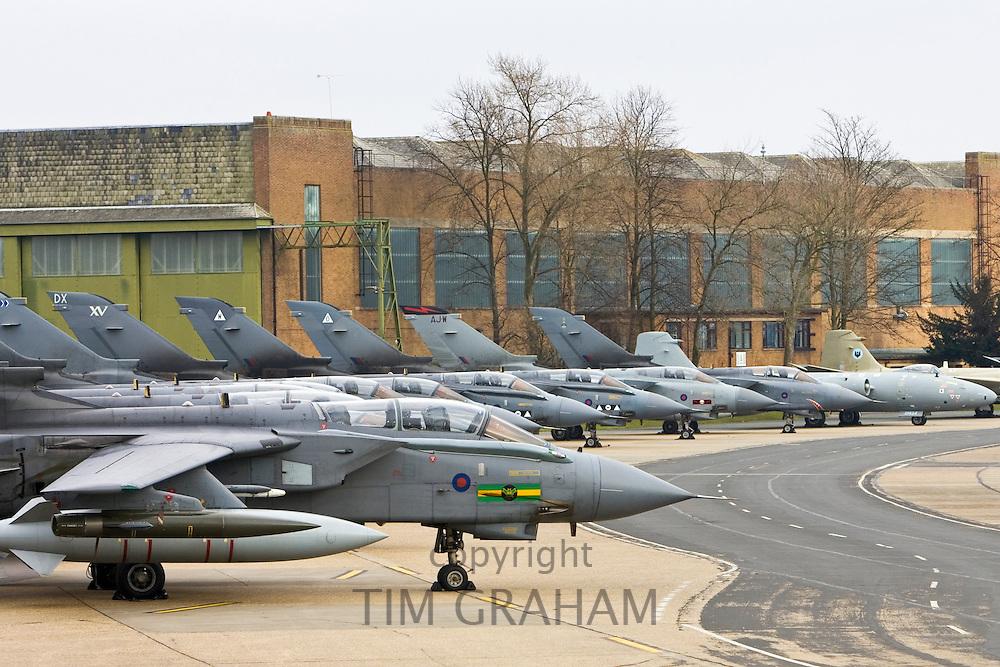 Marham Wing GR4 Tornadoes at RAF Marham, Norfolk, United Kingdom