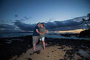 Joel & Erica Leuty family portraits on Maui, Hawaii.