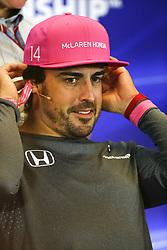 October 19, 2017 - Austin, United States of America - Motorsports: FIA Formula One World Championship 2017, Grand Prix of United States, ..#14 Fernando Alonso (ESP, McLaren Honda) (Credit Image: © Hoch Zwei via ZUMA Wire)