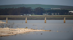 South Africa - Cape Town - 14 July 2020 - The Theewaterskloof Dam at 70.8% full. Overall Cape Town dam levels are at 72,7%. Dams supplying the Cape Metro increased by 9,2% over the past week (6 July – 12 July 2020) to 72,7% of total capacity. Consumption for the same period decreased by 27 million litres per day to 649 million litres per day. In the week before this, water consumption stood at 676 million litres per day. Picture: Henk Kruger/African News Agency(ANA)