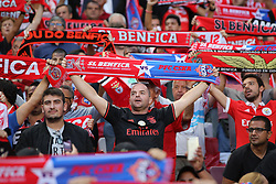 September 12, 2017 - Lisbon, Lisbon, Portugal - Benficas supporters during the SL Benfica v CSKA Moskva - UEFA Champions League round one match at Estadio da Luz on September 12, 2017 in Lisbon, Portugal. (Credit Image: © Dpi/NurPhoto via ZUMA Press)