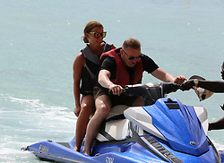 EXCLUSIVE: Wayne and Coleen Rooney enjoy a day at the beach in Barbados as the former England captain contemplates a move to Washington. 22 May 2018 Pictured: Coleen Rooney, Wayne Rooney. Photo credit: Vantage News/MEGA TheMegaAgency.com +1 888 505 6342
