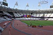 Olympic Stadium, Stratford, London, United Kingdom<br /> <br /> Description:<br /> <br /> 2012 London Olympic, Athletics, <br /> . <br /> <br /> 17:08:29  Friday  10/08/2012 [Mandatory Credit: Peter Spurrier/Intersport Images]