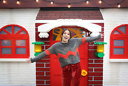 EDITORIAL USE ONLY<br /> Stacey Solomon visits the LEGO Imaginarium, which is open for this weekend only on London's Southbank.