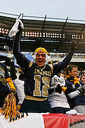 6 Dec 2008: Navy fans celebrate during the Army / Navy game December 6th, 2008.  The Navy won 34-0 at Lincoln Financial Field in Philadelphia, Pennsylvania.