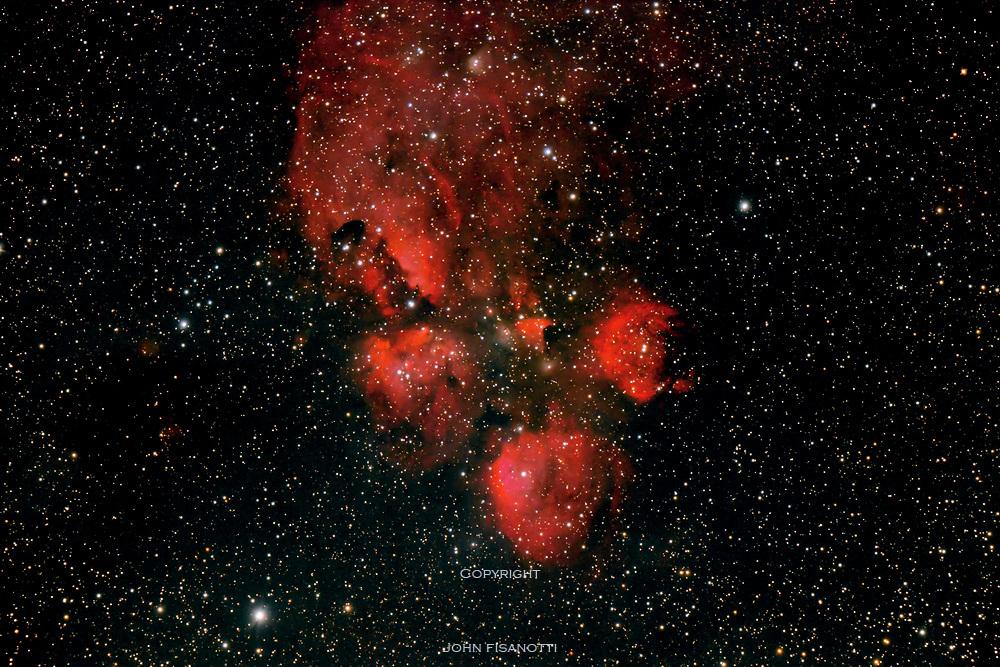 NGC 6334, the Cat's Paw Nebula in Scorpius