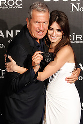 File photo : Mario Testino and Penelope Cruz attend the Zoolander 2 premiere at Capitol theater in Madrid, Spain, February 1, 2016. Photographer to the stars Mario Testino is a favourite of the Royal Family but he is facing a stream of sexual misconduct allegations from male models. Fashion brands Burberry and Michael Kors moved quickly to cut ties with him. He had been a front-runner to be the official photographer at the wedding of Prince Harry and Meghan Markle but has been ruled out following the uproar. Photo by Archie Andrews/ABACAPRESS.COM