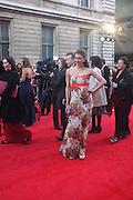 SUMMER STRALLEN; , Olivier Awards 2012, Royal Opera House, Covent Garde. London.  15 April 2012.