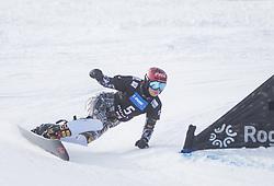 Ledecka Ester during the FIS snowboarding world cup race in Rogla (SI / SLO) | GS on January 20, 2018, in Jasna Ski slope, Rogla, Slovenia. Photo by Urban Meglic / Sportida