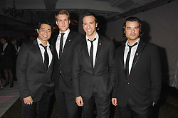Singing group TEATRO at a reception to launch the Kiss It Better Appeal in aid of the Great Ormond Street Hosoital supported by Clinique - held at Harrods, Knightsbridge, London on 30th January 2008.<br /> <br /> NON EXCLUSIVE - WORLD RIGHTS (EMBARGOED FOR PUBLICATION IN UK MAGAZINES UNTIL 1 MONTH AFTER CREATE DATE AND TIME) www.donfeatures.com  +44 (0) 7092 235465