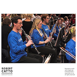 The Vector Wellington Orchestra's Baby Proms concert (conducted by Owen Clarke, with MC Jennifer Moss) drew crowds of youngsters to the Michael Fowler Centre for an afternoon of orchestral classics, and a chance to walk through the orchestra - and even conduct!