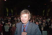 IAN RANKIN, Orion Authors' Party celebrating their 20th anniversary. Natural History Museum, Cromwell Road, London, 20 February 2012.