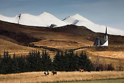 Mosfellsdalur valley, south-west Iceland