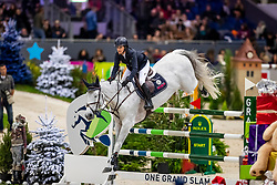 KRAUT Laura (USA), Zeremonie<br /> Genf - CHI Rolex Grand Slam 2018<br /> Rolex Grand Prix<br /> 09. Dezember 2018<br /> © www.sportfotos-lafrentz.de/Stefan Lafrentz