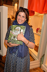 KIRSTY ALLSOPP at a party to celebrate the publication of India Hicks: Island Style hosted by Princess Marie-Chantal of Greece, Saffron Aldridge and Amanda Brooks has held at Ralph Lauren, 105-109 Fulham Road, London on 28th April 2015,