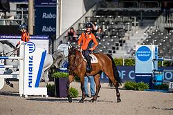 Bles Bart, NED, Israel vd Dennehoeve<br /> European Championship Jumping<br /> Rotterdam 2019<br /> © Hippo Foto - Dirk Caremans
