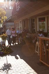 North America, United States, Washington, Bellevue, restaurant in Old Bellevue