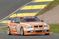 2008 British Touring Car Championship.  Knockhill, Scotland, United Kingdom.  16th-17th August 2008.  (50) - Stephen Jelley (GBR) - Team RAC BMW 320si E90.  World Copyright: Peter Taylor/PSP. Copy of publication required for printed pictures. Every used picture is fee-liable.
