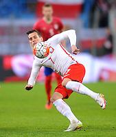 2016.03.23 Poznan<br /> Pilka Nozna Reprezentacja Mecz towarzyski<br /> Polska - Serbia<br /> N/z Arkadiusz Milik<br /> Foto Rafal Rusek / PressFocus<br /> <br /> 2016.03.23 Poznan<br /> Football Friendly Game<br /> Poland - Serbia<br /> Arkadiusz Milik<br /> Credit: Rafal Rusek / PressFocus