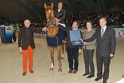 Lejeune Philippe (BEL) - Vigo d'Arsouilles<br /> Paard van het jaar<br /> CSI-W Mechelen 2008<br /> Photo © Dirk Caremans