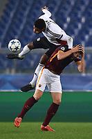 Edin Dzeko Roma, Jonathan Tah Bayer <br /> Roma 04-11-2015 Stadio Olimpico Football Calcio Champions League Group Stage Group E 2015/2016 AS Roma - Bayer Leverkusen Foto Andrea Staccioli / Insidefoto