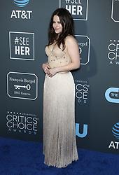 24th Annual Critics' Choice Awards. 13 Jan 2019 Pictured: Emily Hampshire. Photo credit: Jaxon / MEGA TheMegaAgency.com +1 888 505 6342