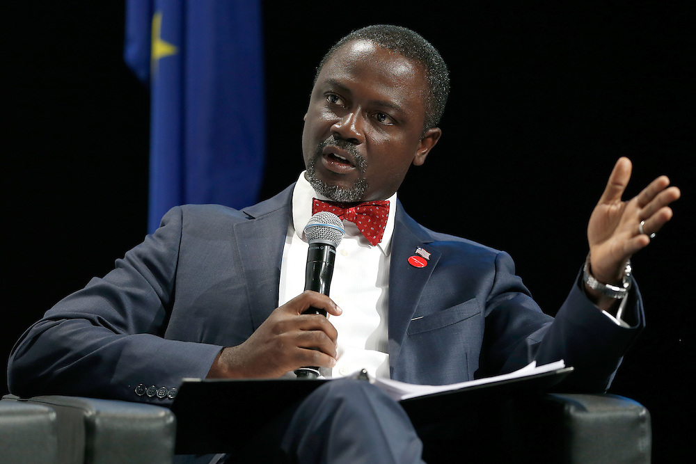 04 June 2015 - Belgium - Brussels - European Development Days - EDD - Growth , jobs and partnership with business - How to make a difference together in contributing to a sustainable and inclusive growth agenda - Axel Addy , Minister of Commerce and Industry , Liberia © European Union