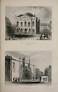 London The Sessions House, Clerkenwell (top) Old Bailey [Central Criminal Court of England and Wales] (Bottom) From the book Illustrated London, or a series of views in the British metropolis and its vicinity, engraved by Albert Henry Payne, from original drawings. The historical, topographical and miscellanious notices by Bicknell, W. I; Payne, A. H. (Albert Henry), 1812-1902 Published in London in 1846 by E.T. Brain & Co
