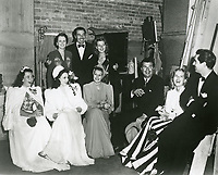 1947 Backstage at the Blackouts