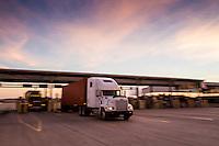Cargo moves through the Port of Houston