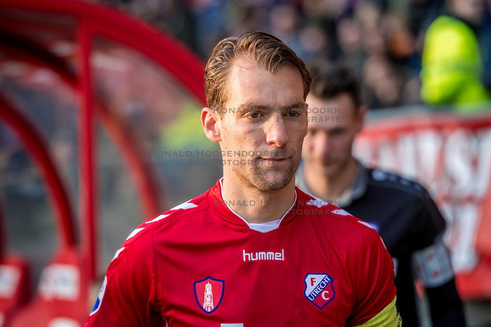 05-02-2017 NED: FC Utrecht - Heerenveen, Utrecht<br /> 21e speelronde van seizoen 2016-2017, Nieuw Galgenwaard / Willem Janssen #8