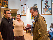 17 MAY 2019 - MESKWAKI, IOWA:  Gov. Bullock joined a crowded field of Democrats vying to be the party's nominee in 2020. Iowa traditionally hosts the the first election event of the presidential election cycle. The Iowa Caucuses will be on Feb. 3, 2020.                       PHOTO BY JACK KURTZ