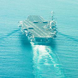 USS John C Stennis CVN-74 Aircraft Carrier.Pic Shows USS C Stennis