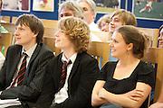 Ian McMillan at Magdalen College School Arts Festival 2009