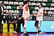 Cervi Riccardo <br /> Grissin Bon Reggio Emilia - Dolomiti Energia Trentino<br /> Legabasket Serie A 2018/2019<br /> Reggio Emilia 07/04/2019<br /> Foto A.Giberti / Ciamillo-Castoria