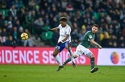February 13, 2019 - Saint Etienne, France - Mathieu Debuchy ( Saint Etienne ) - DA COSTA Nuno  (Credit Image: © Panoramic via ZUMA Press)