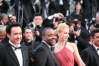 John Cusack, Lee Daniels, Nicole Kidman,  at The Paperboy gala screening red carpet at the 65th Cannes Film Festival France. Thursday 24th May 2012 in Cannes Film Festival, France.