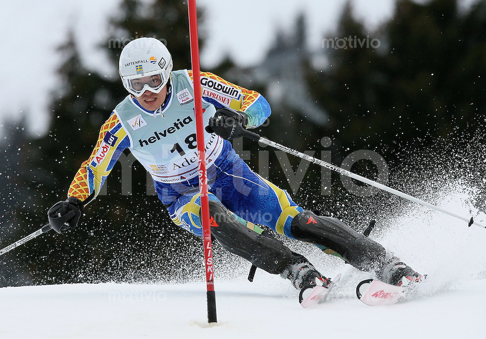 Ski Alpin;  Saison 2006/2007   06.01.2007 42. Weltcup Slalom  Herren Andre Myhrer (SWE)