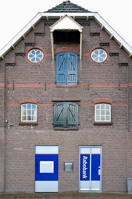 Nederland, Hengelo, Gelderland,18-1-2018In dit dorpje in de Betuwe stond een geldautomaat van de Rabobank. Hij is opgeheven zodat er geen pinautomaat meer is in het dorp. Er is geen bankkantoor meer. Foto: Flip Franssen