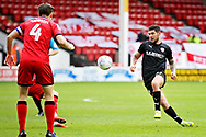 Barnsley midfielder Alex Mowatt on the ball the EFL Sky Bet League 1 match between Walsall and Barnsley at the Banks's Stadium, Walsall, England on 23 March 2019.