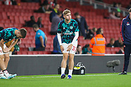 Emile Smith Rowe of Arsenal during the EFL Cup match between Arsenal and Nottingham Forest at the Emirates Stadium, London, England on 24 September 2019.
