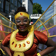 Thousands attend to watch the Notting Hill Carnival 2017 - Children Day parade from Westborne park to Notting Hill gate on 27th August 2017, London, UK.